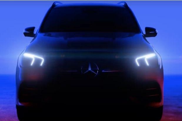 Новый Mercedes GLE: официальный видеотизер и шпионские снимки