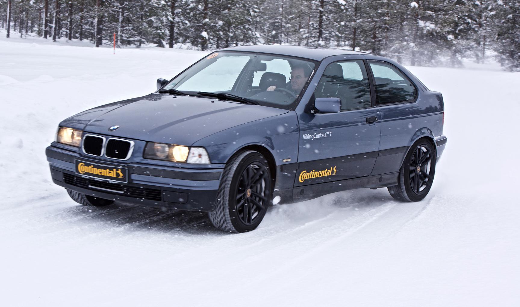 Continental VikingContact 7 обеспечит первоклассное сцепление на зимних дорогах России