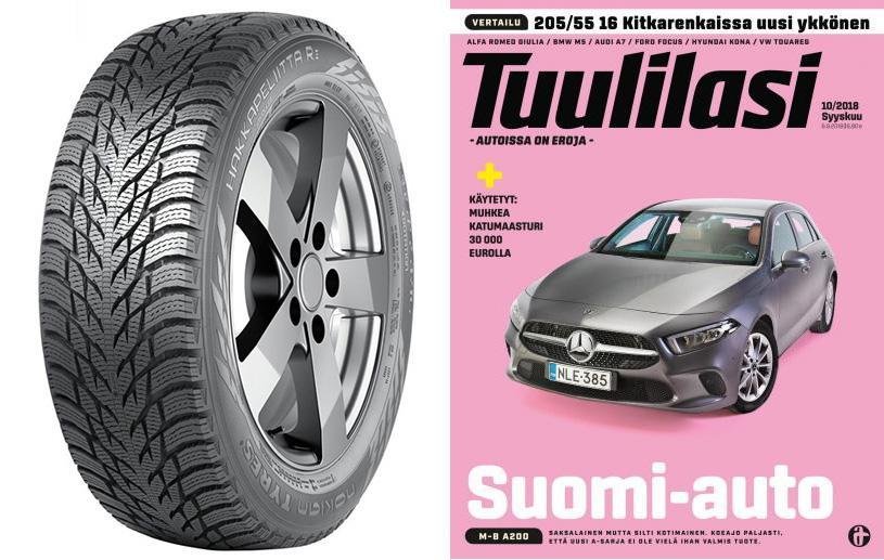 Nokian Hakkapeliitta R3 вошла в тройку лучших зимних шин по версии Tuulilasi