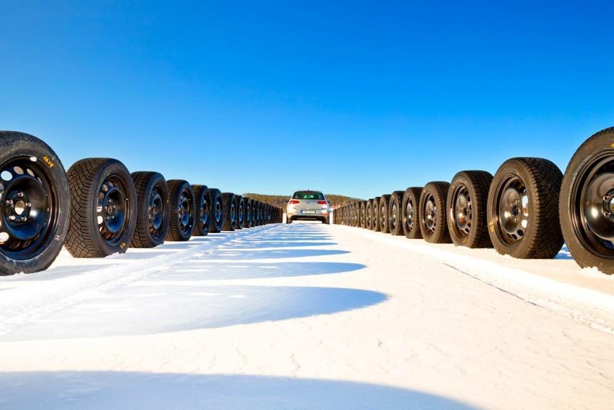 Шины Nokian лидируют в зимних сравнительных тестах журнала «Авторевю»