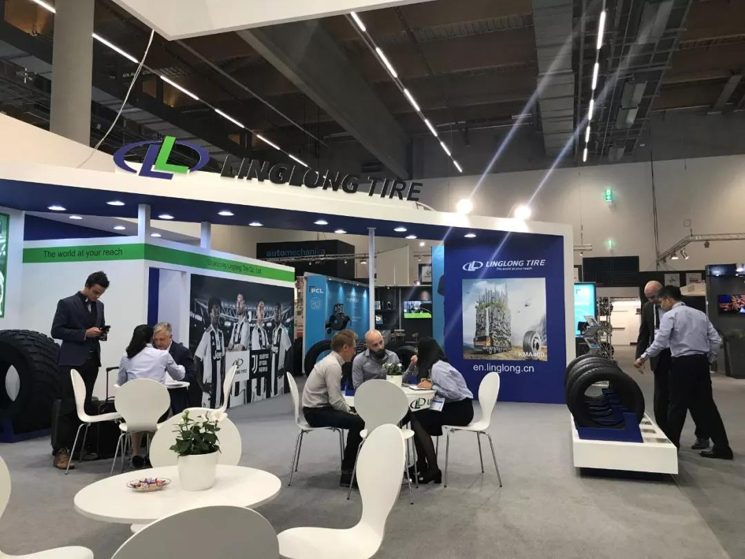 Linglong Tire на выставке Automechanika Frankfurt 2018
