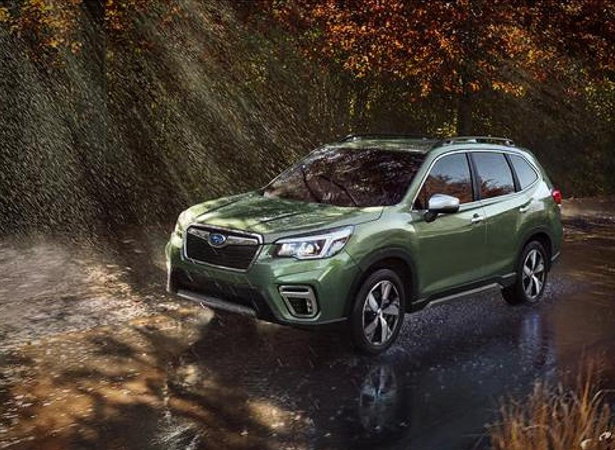 Subaru Forester 2019 для американского и китайского рынков обуют в резину Falken