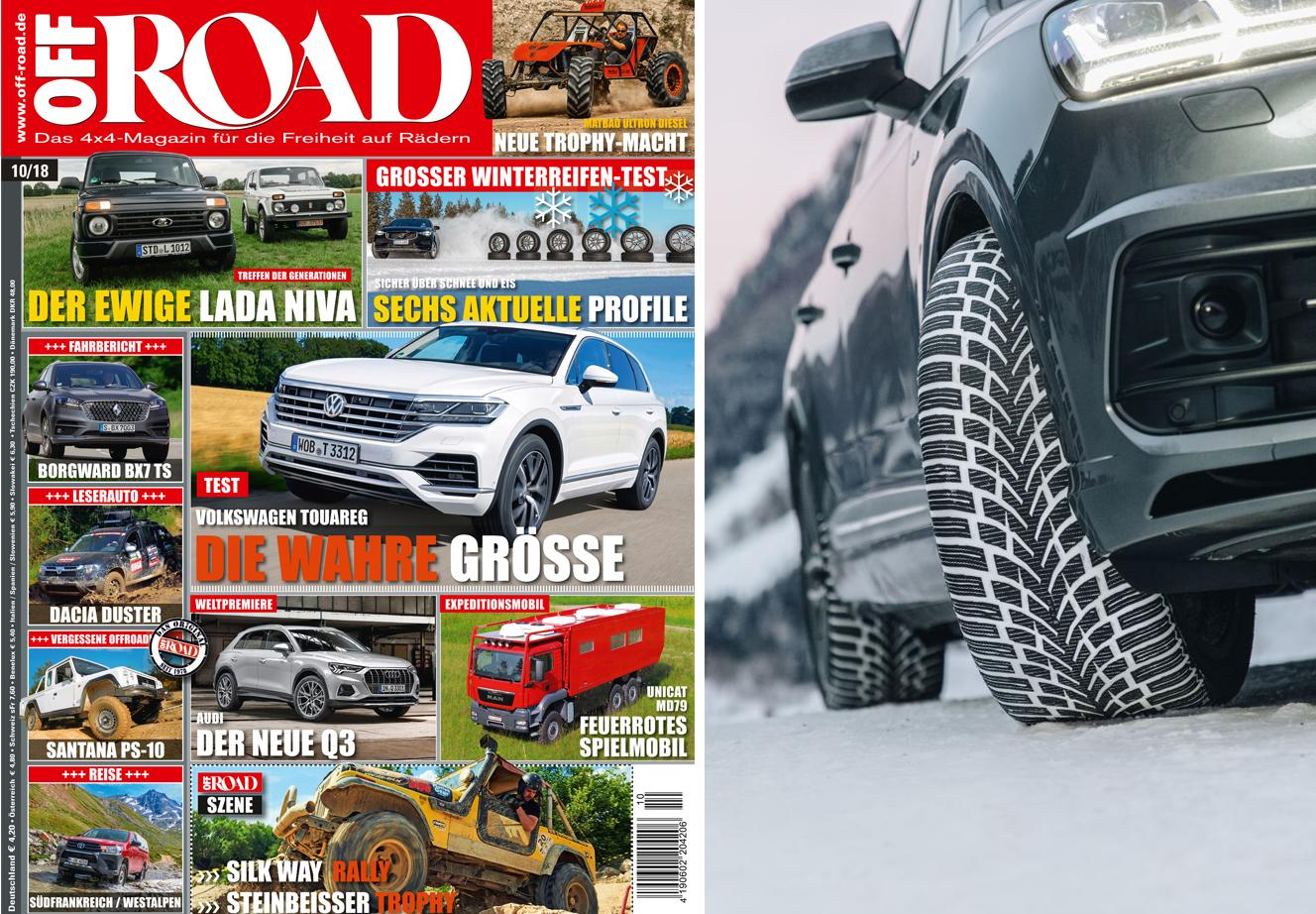 Победа Nokian WR SUV 4 в тестах журнала OFF ROAD