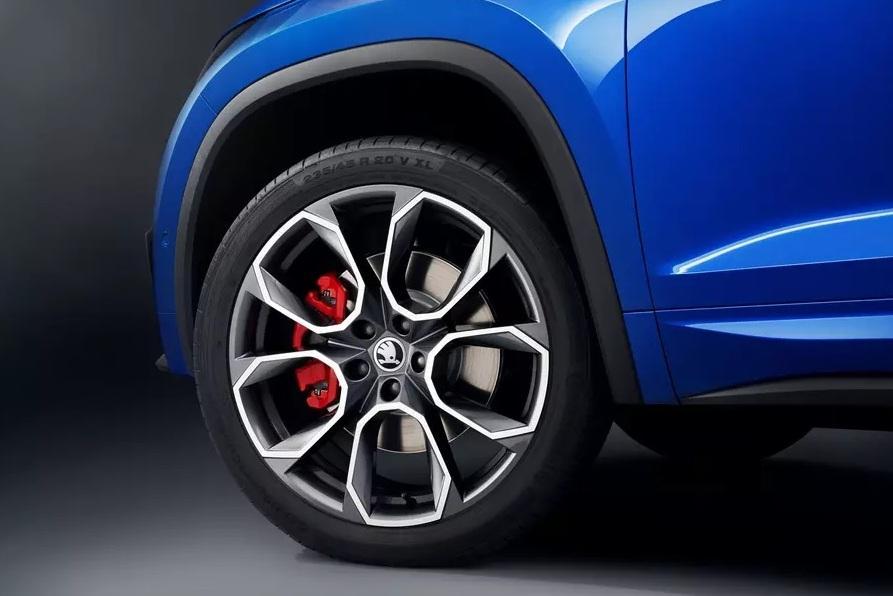 Skoda Kodiaq RS поедет на 20-дюймовых колесах