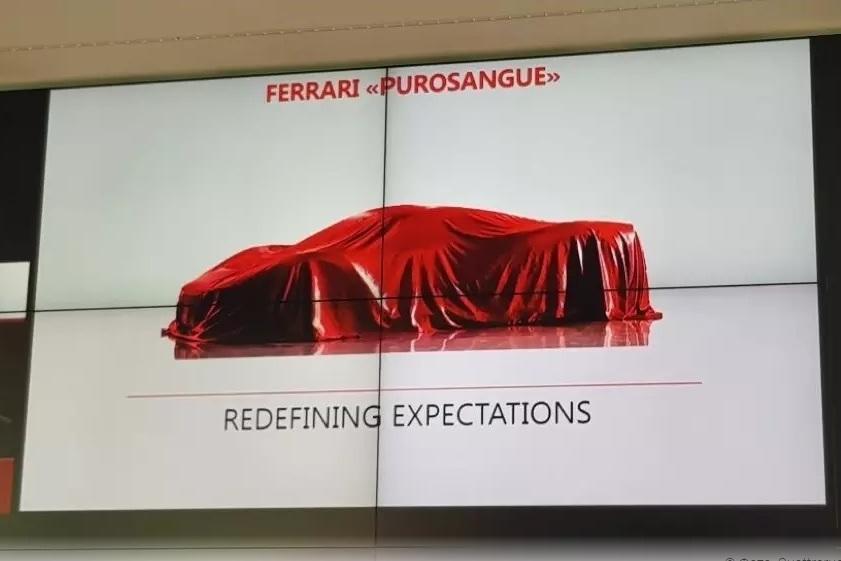 Стало известно имя внедорожника Ferrari