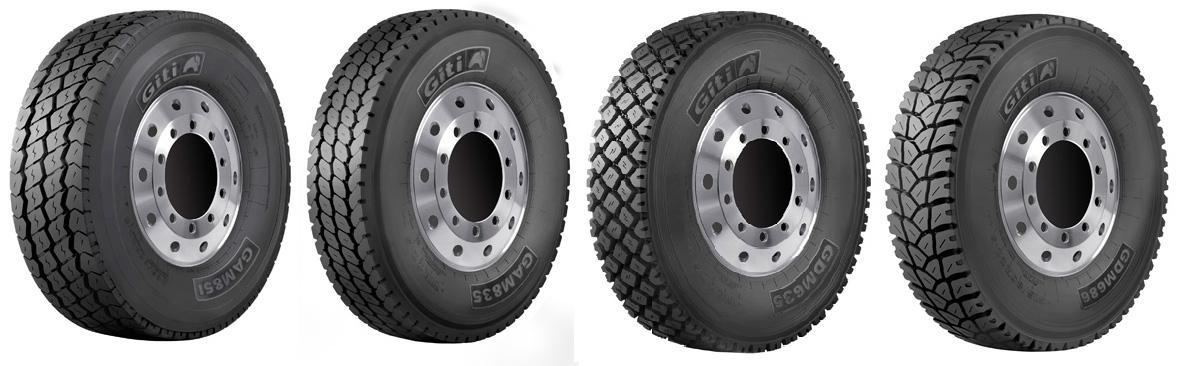 На североамериканский рынок выходят новые грузовые шины торговой марки Giti