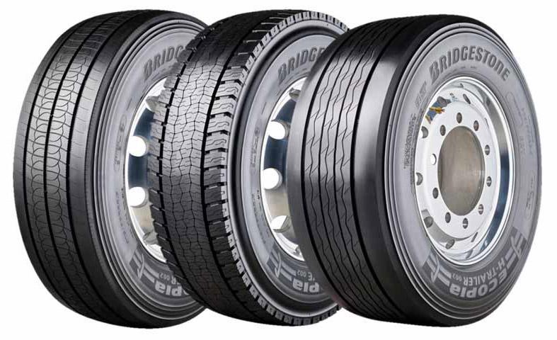 На рынок выходит новое поколение грузовых экошин Bridgestone Ecopia H002