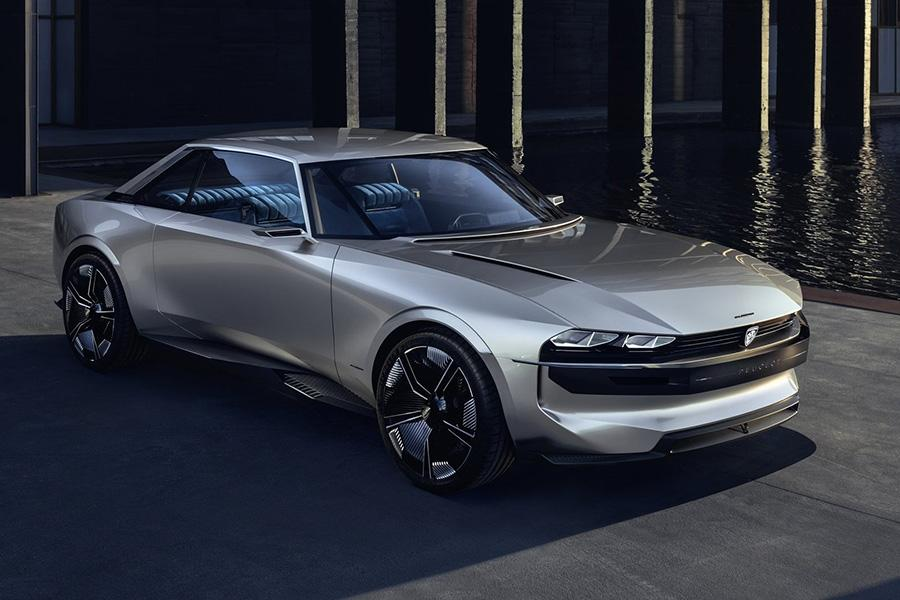 В Peugeot сделали концепт в ретро-стиле