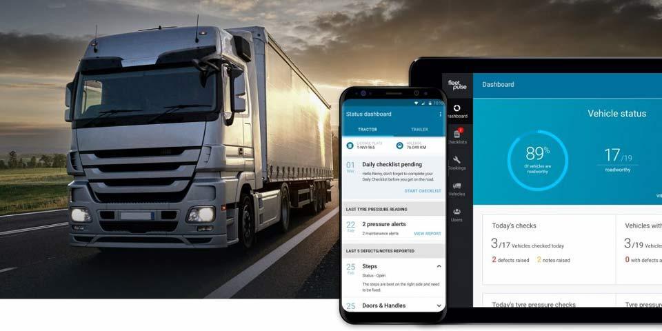 Bridgestone запускает новый мобильный сервис FleetPulse для управления автопарками