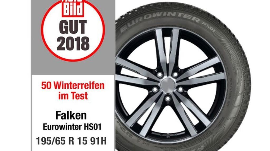 Falken Eurowinter HS01 получила оценку «хорошо» от экспертов журнала Auto Bild