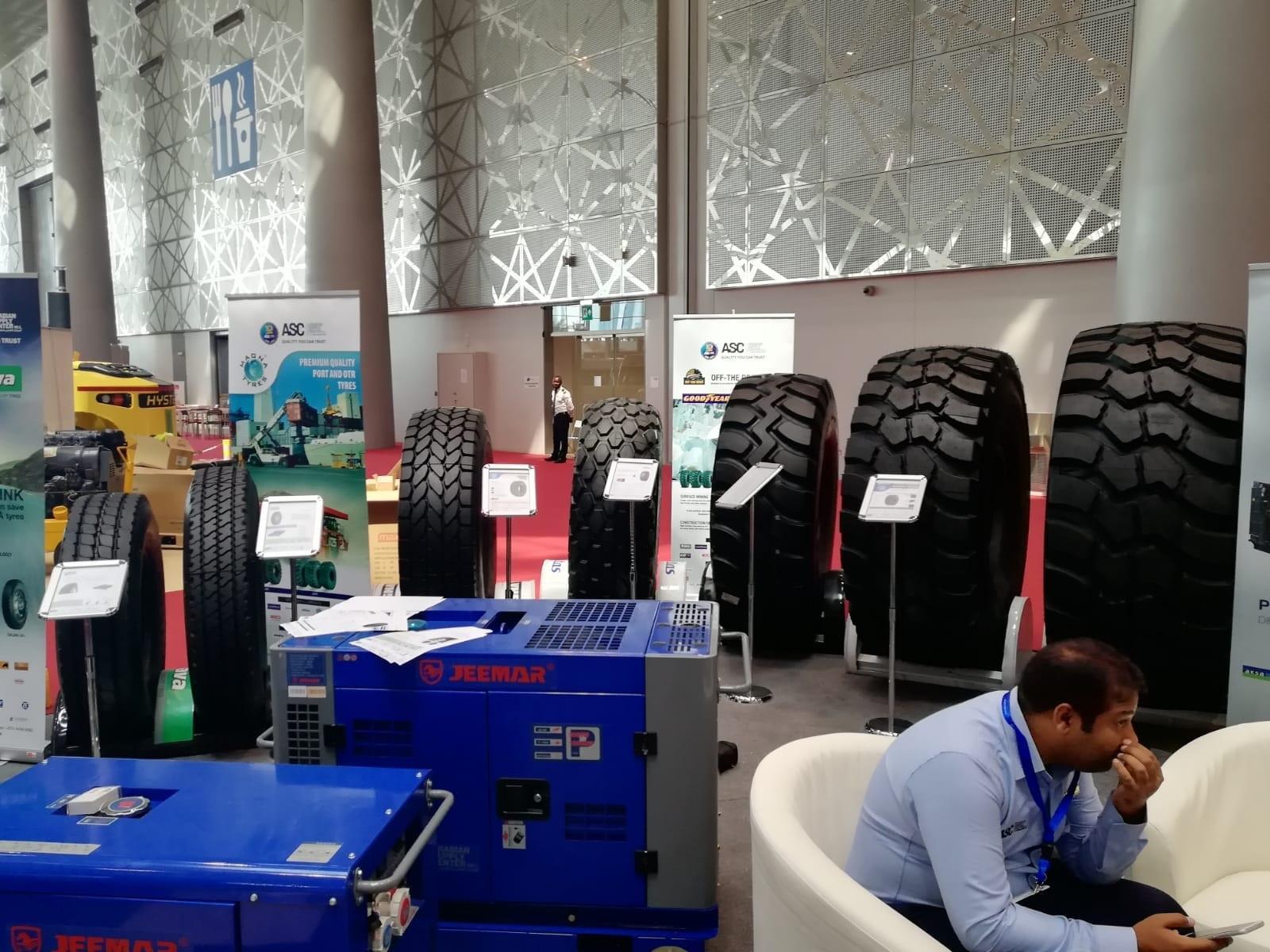 Magna Tyres привезла на выставку в Доху свои новейшие разработки