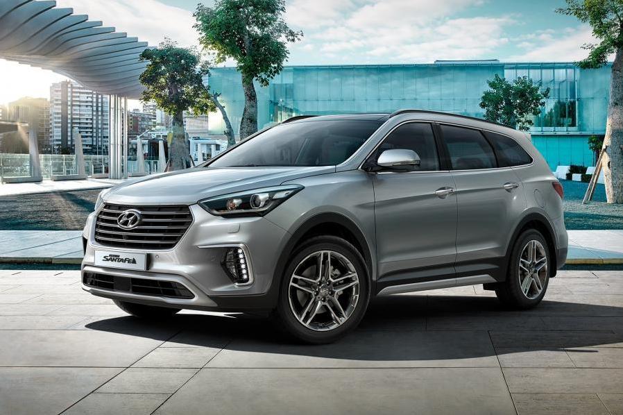 У Hyundai Grand Santa Fe замены не будет