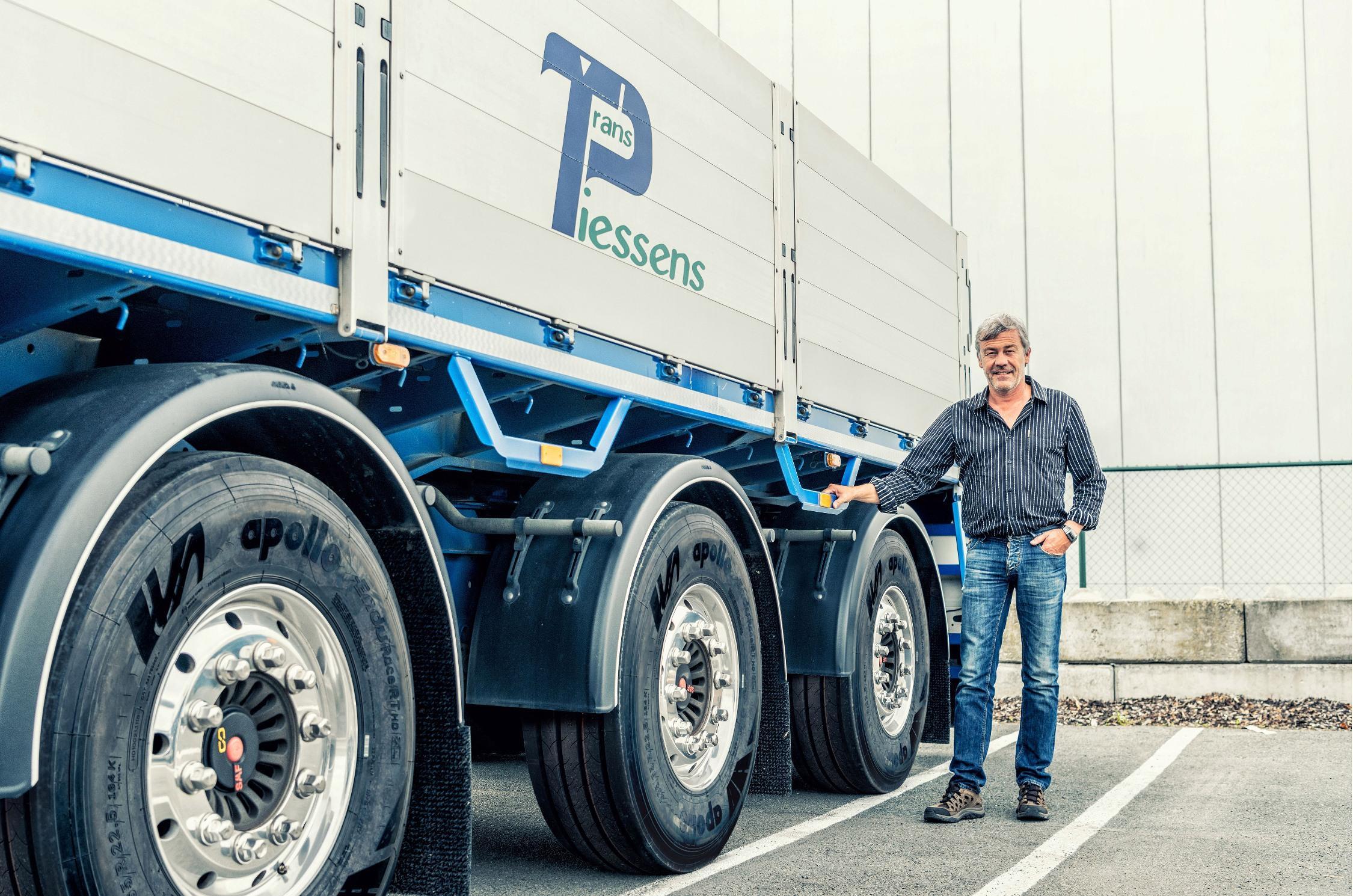 Первые грузовые шины Apollo венгерского производства отправили в Бельгию