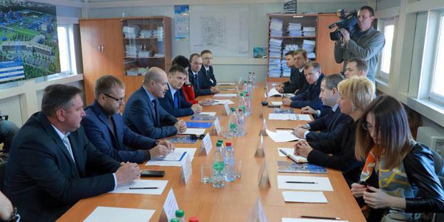 Новый завод «Омск Карбон Могилев» готовится к пуску производства