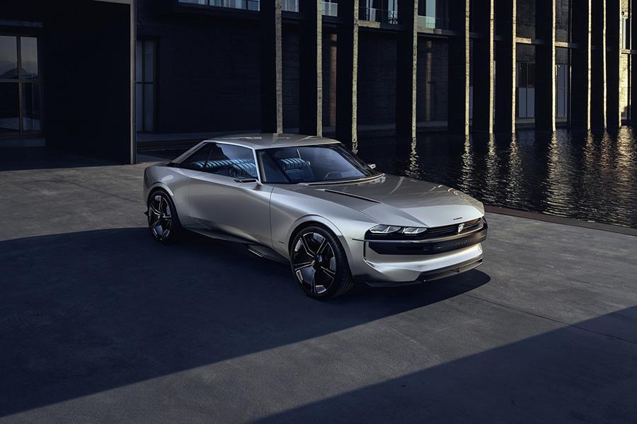 Автосалон в Париже 2018: Peugeot e-Legend