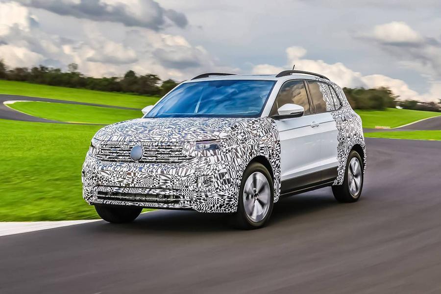Volkswagen раскрыл дату премьеры кроссовера T-Cross