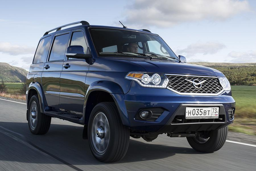 Объявлены цены на обновленный «УАЗ Патриот»