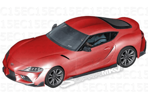 Toyota Supra: первые фото интерьера