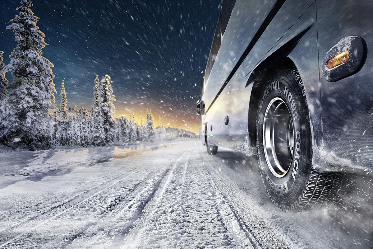 Continental развивает линейку зимних шин для автобусов