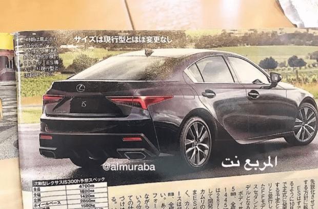 В сеть попали изображения нового Lexus IS