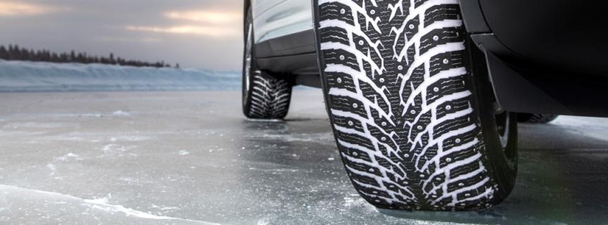В Эстонии официально разрешили использовать шипованные шины