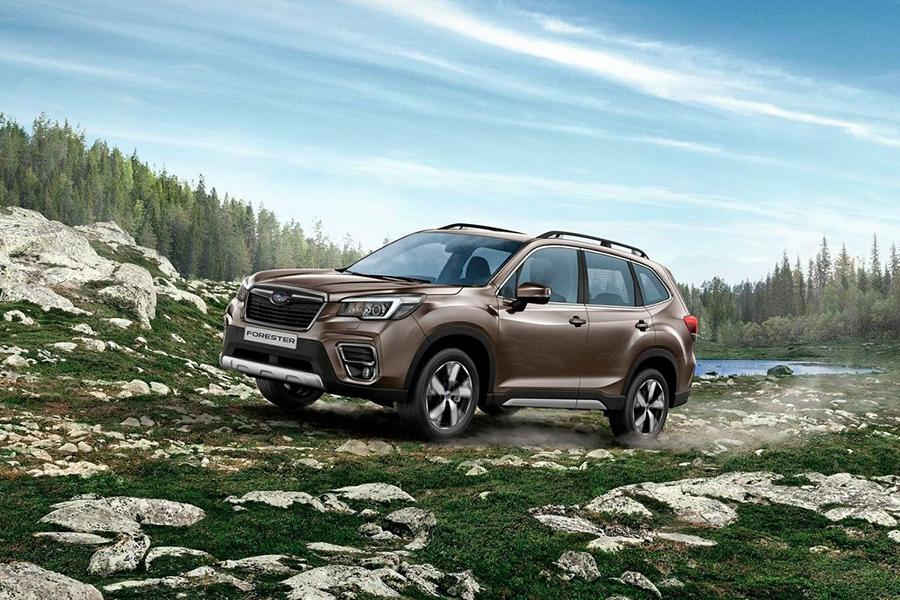 Subaru уточнила цены на новый Forester