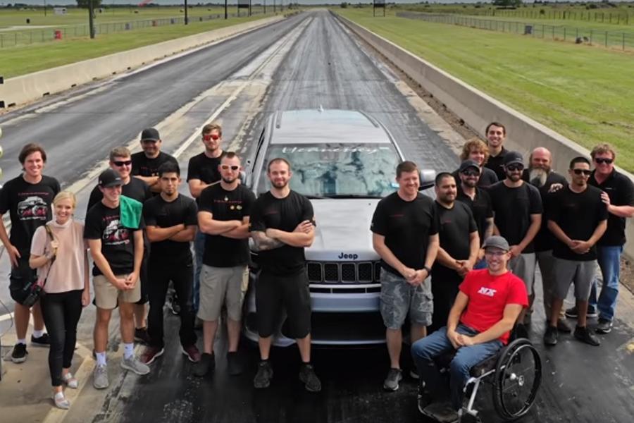 В ателье Hennessey соорудили самый быстрый Jeep