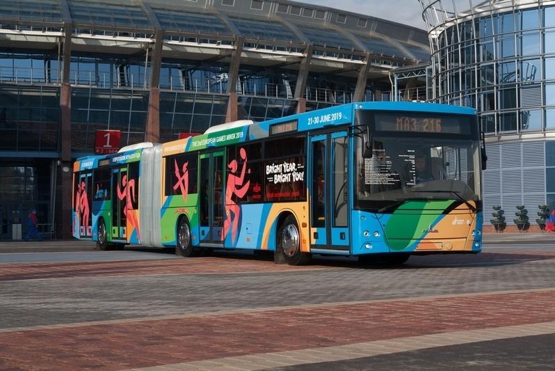 МАЗ построил современный сочлененный автобус