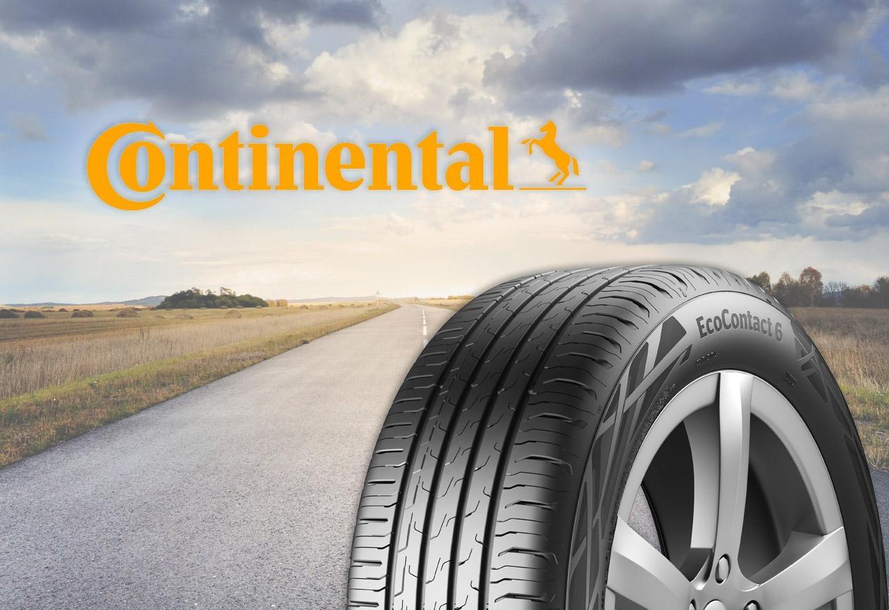 Continental начала серийный выпуск летней шины EcoContact 6
