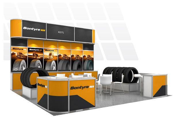 На выставке Global Tire Expo 2018 будет стенд российского бренда Bontyre