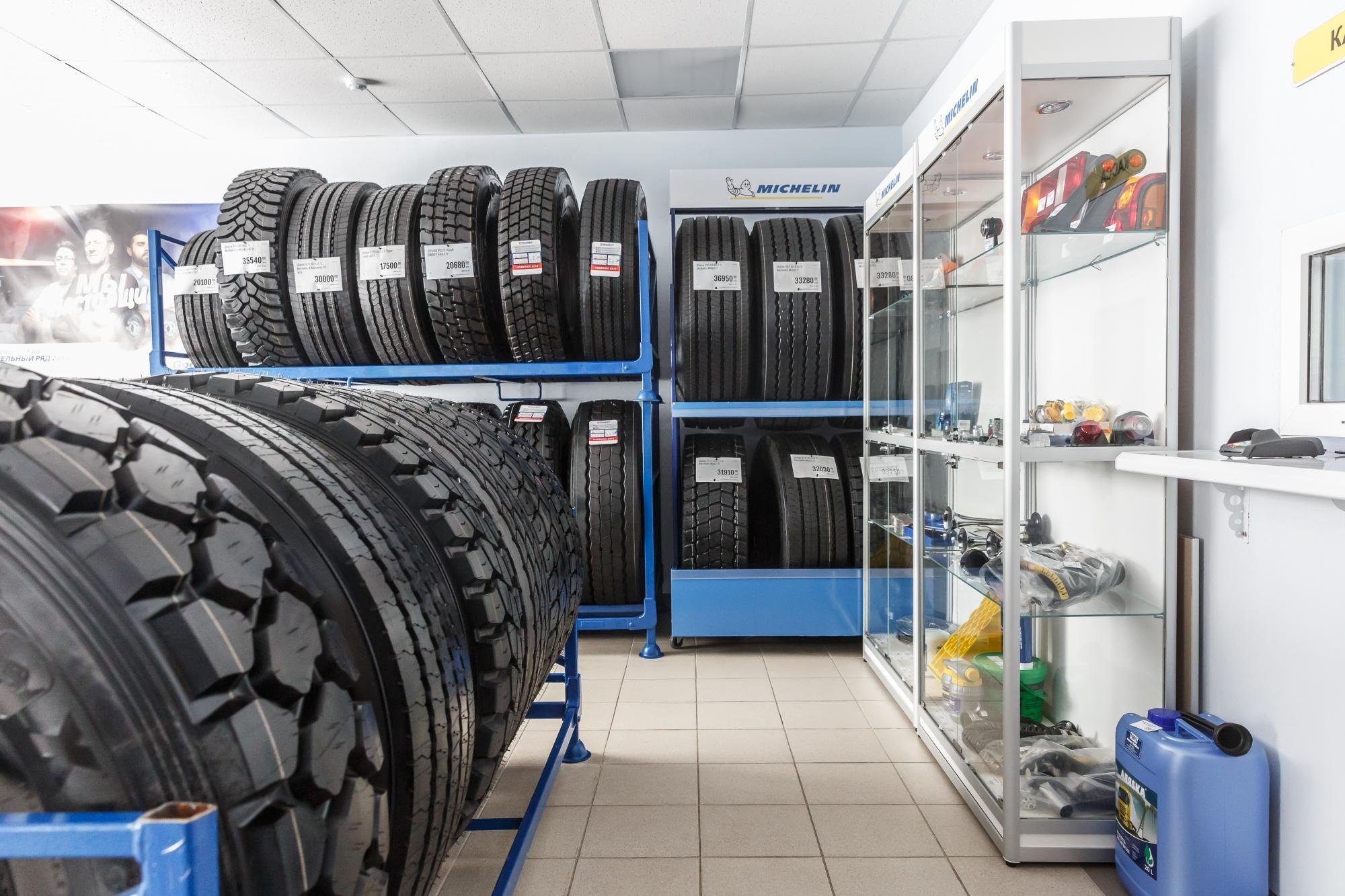 Мишлен развивает сеть грузовых шинных центров в Восточно-Европейском регионе