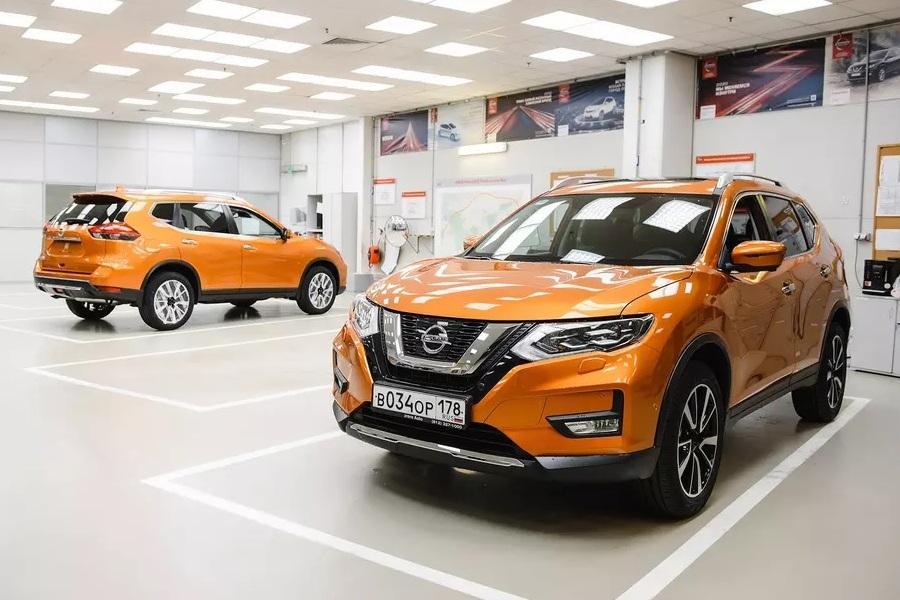 Рестайлинговый Nissan X-Trail для России: новые подробности