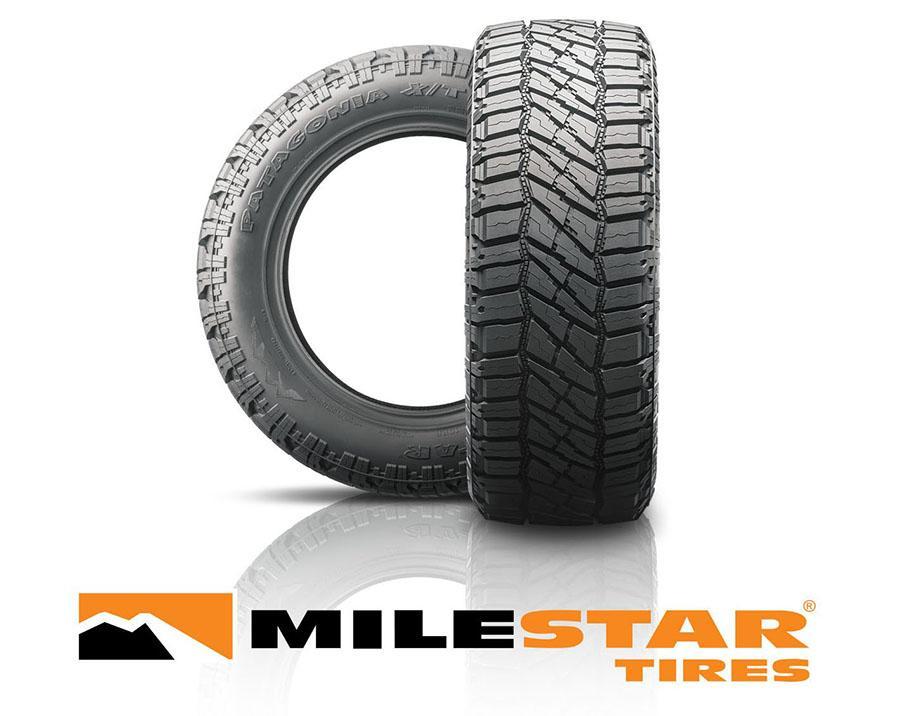 Семейство легкогрузовых шин Milestar Patagonia пополнилось новой моделью Xtreme all-terrain