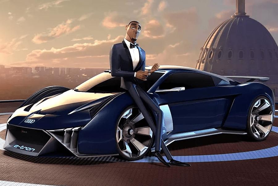В Audi создали мультяшный суперкар