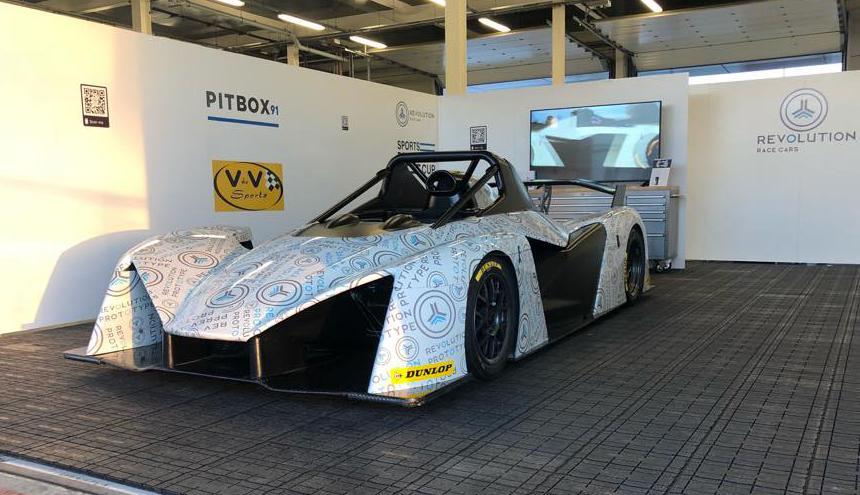 Dunlop Motorsport будет поставщиком оригинальных шин для нового трек-кара Revolution