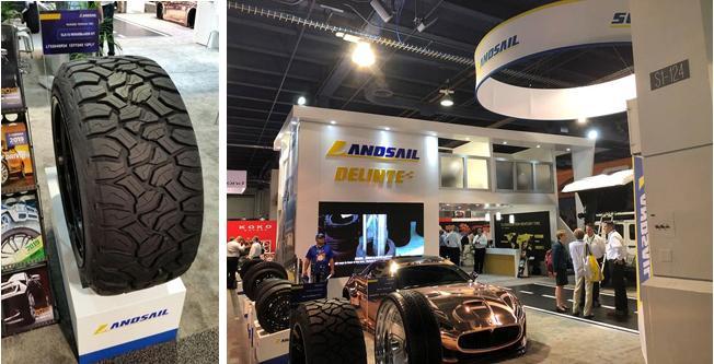 Sentury Tire представила на выставке в Лас-Вегасе новые внедорожные шины бренда Landsail