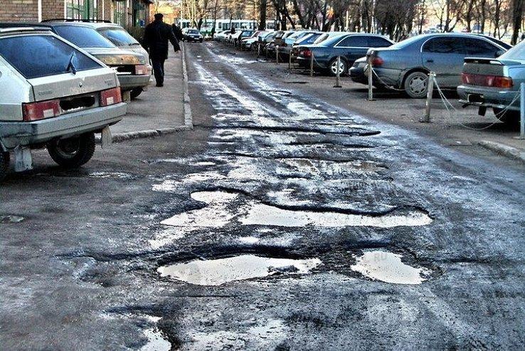 Россияне оценили качество дорог и парковок в своих городах