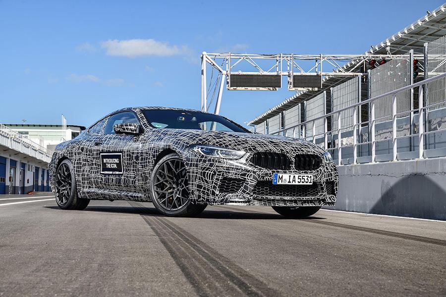 Компания BMW рассказала о купе M8
