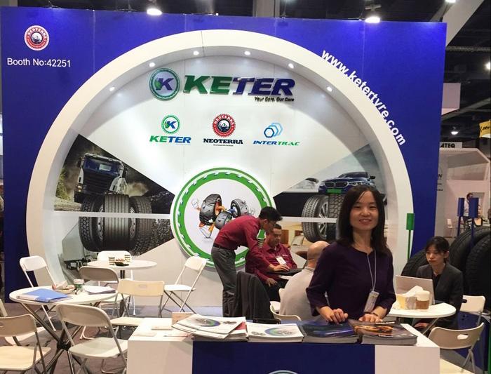 Keter Tyre представила на SEMA 2018 новую грузовую всесезонку Neoterra NT396