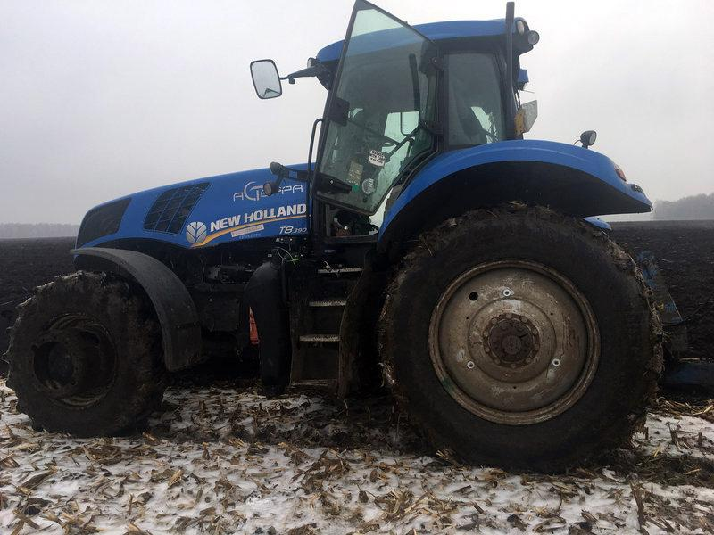 «Днепрошина» проводит полевые испытания новых тракторных шин