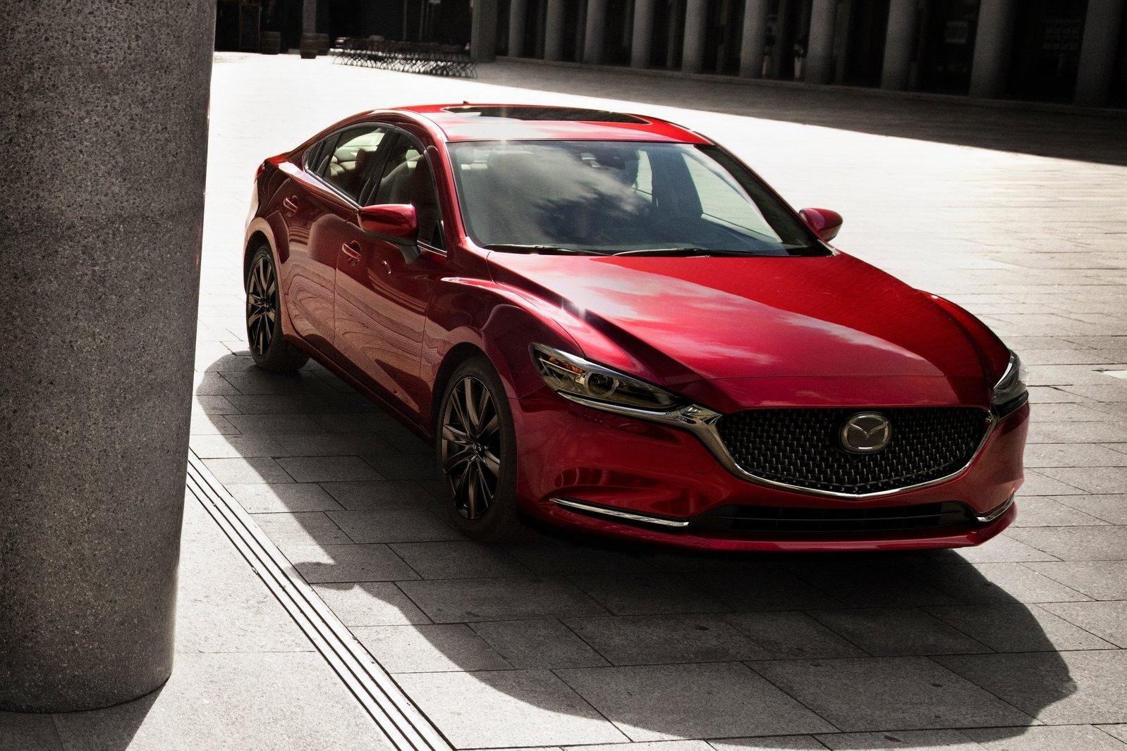 Обновленную Mazda6 начали собирать во Владивостоке