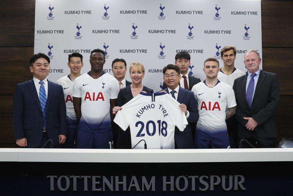 Kumho Tire и Tottenham Hotspur продлили сотрудничество