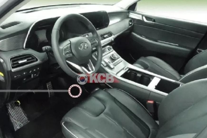 Hyundai Palisade: фотошпионы раскрыли интерьер