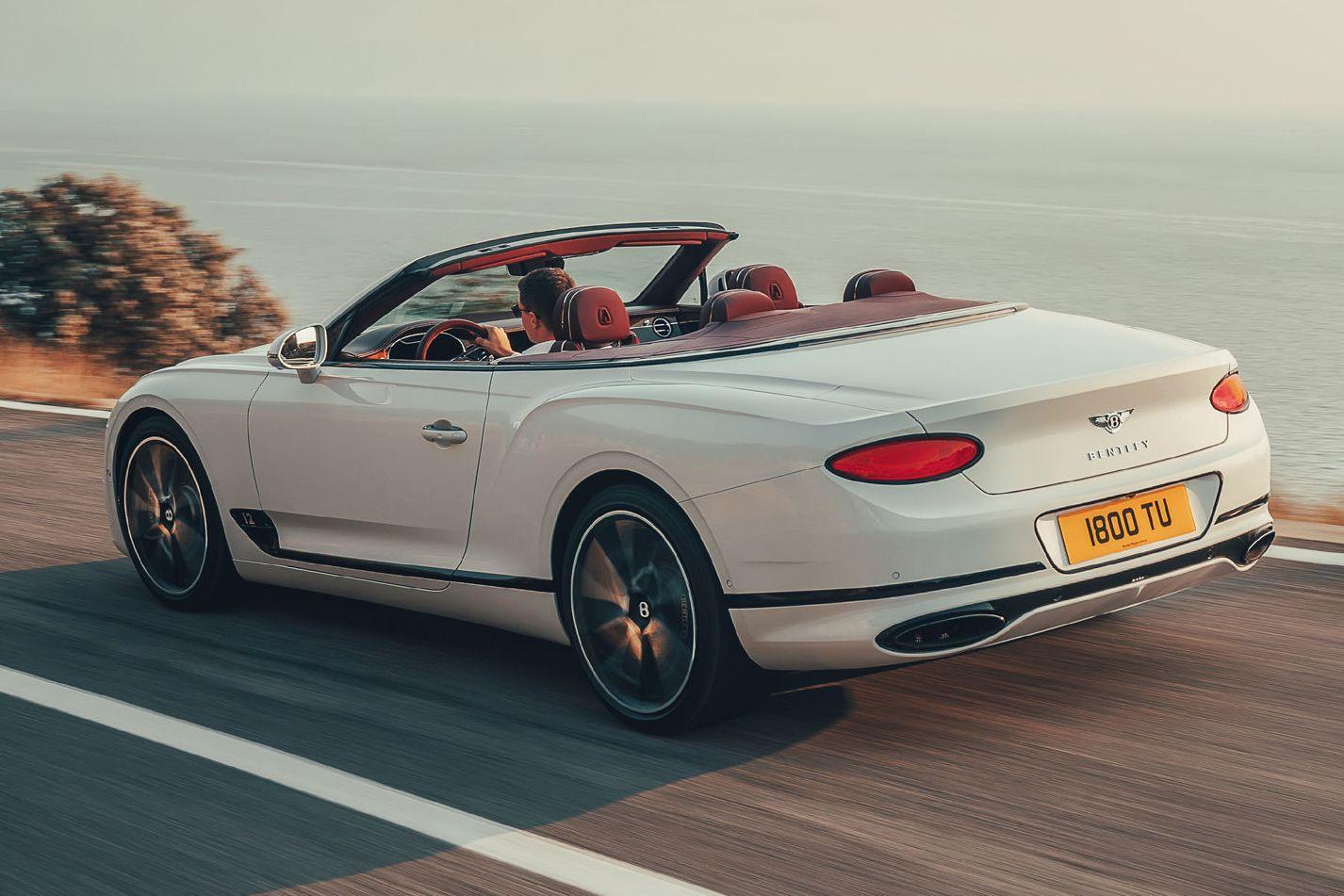 Bentley показал открытый Continental GTC