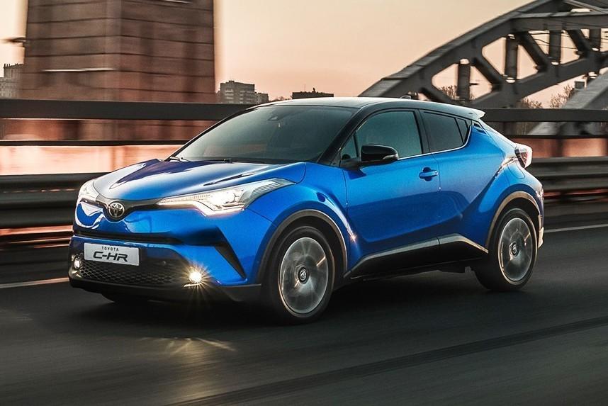 Toyota C-HR может потерять задние колеса