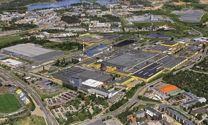 Мишлен вложит 39 миллионов евро в увеличение мощностей своего завода в Польше