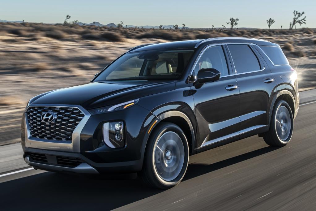Автосалон в Лос-Анджелесе 2018: Hyundai Palisade