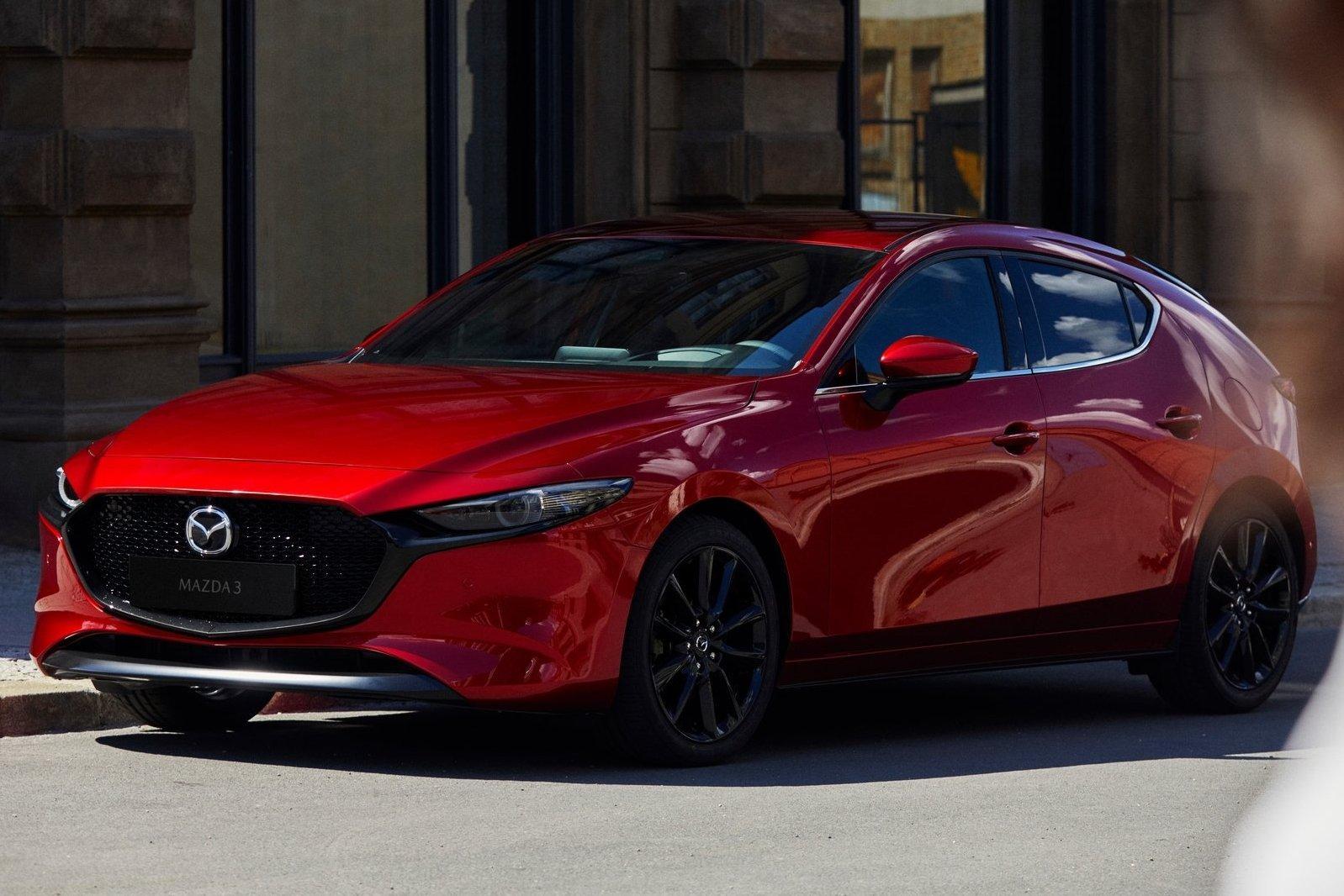 Автосалон в Лос-Анджелесе 2018: Mazda3