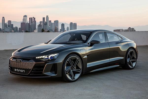 Автосалон в Лос-Анджелесе 2018: Audi e-tron GT