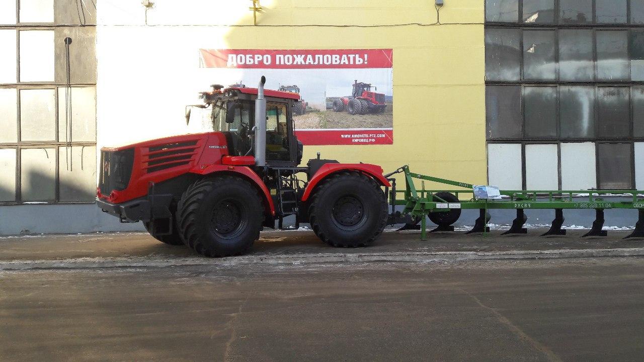 Петербургский тракторный завод отметил качество алтайских шин